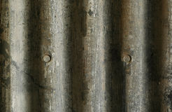 Corrugated Tim Background. Corrugated Tin Wall on Old Midwest Barn Royalty Free Stock Image