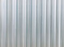 Corrugated transparent plastic texture Royalty Free Stock Photos