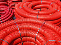 Corrugated tubing Stock Images
