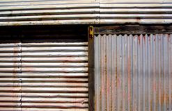 Corrugated Wall Stock Image