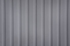 Corrugated Wall Royalty Free Stock Photo
