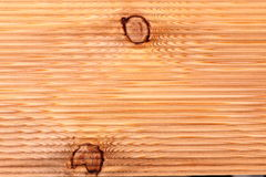 Corrugated Wood texture macro view Royalty Free Stock Images