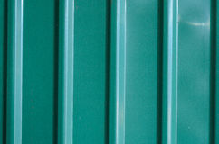 Corrugated zinc texture background Royalty Free Stock Photos
