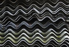 Corrugations Royalty Free Stock Photos