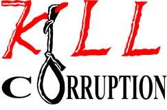 Corrupção da matança Ilustração do Vetor