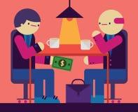 corrupción Imagen de archivo libre de regalías