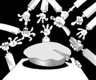 Corrupción en política Fotografía de archivo