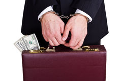 Corrupt business Stock Photography
