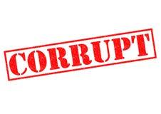 CORRUPT Stock Image