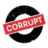 Corrupt rubber stamp Stock Photo