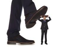 corruptie Bedrijfsconflict royalty-vrije stock afbeelding