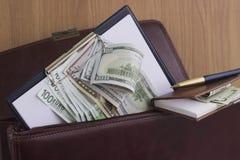 Corruptie en omkoperij stock fotografie