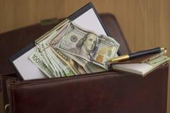 Corruptie en omkoperij royalty-vrije stock foto