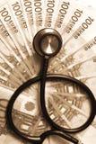 Corruptie en omkoperij in geneeskunde Royalty-vrije Stock Afbeelding
