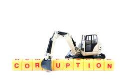 corruption Imagem de Stock