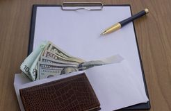 Corruption and bribery royalty free stock photos
