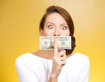 Corruption, bribes Royalty Free Stock Photo