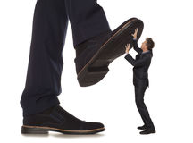 Corruption.  Business conflict Stock Photo