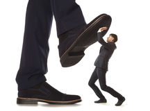 Corruption.  Business conflict Stock Photography