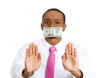 Corruption Royalty Free Stock Photos