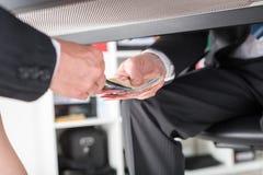 Corruption concept Stock Images