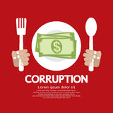 Corruption. Royalty Free Stock Photos
