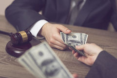 Corruption Royalty Free Stock Photography