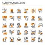 Corruption Elements Stock Images