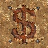 Corruption financière Photo stock