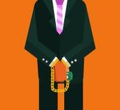Corruption man. Stock Images