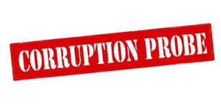Corruption probe Stock Photos