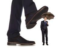 corruptness Biznesowy konflikt Fotografia Stock