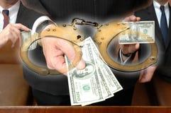 corruzione Immagini Stock Libere da Diritti