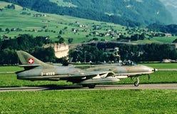 Corsário NX240CF de Vought F4U-4 fotografia de stock