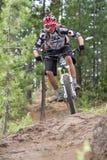 Corsa 2012 di serie dell'Oregon Enduro #1: Curvatura, O Fotografia Stock Libera da Diritti