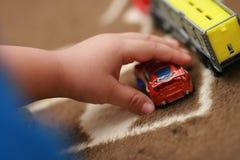 Corsa 3 di fantasia del bambino Fotografia Stock