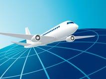 Corsa in aereo Fotografia Stock Libera da Diritti