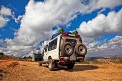 Corsa in Africa Fotografie Stock Libere da Diritti