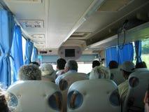 Corsa in bus Immagini Stock Libere da Diritti