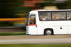 Corsa in bus Fotografia Stock Libera da Diritti