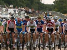 Corsa classica del ciclo di Londra Surrey Immagine Stock