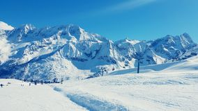 Corsa con gli sci Italia Immagine Stock