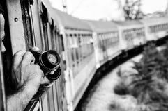 corsa d'accelerazione interna del treno Fotografia Stock Libera da Diritti