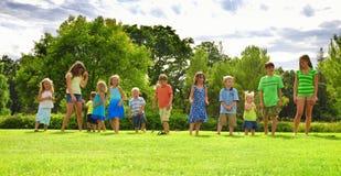 corsa dei bambini Fotografie Stock
