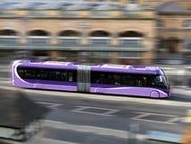 Corsa del bus Fotografia Stock Libera da Diritti