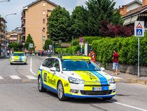 Corsa del bycicle dell'Italia dei Di di postagiro Fotografia Stock Libera da Diritti
