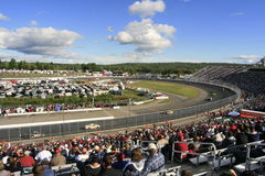 Corsa del camion di NASCAR in NH Fotografia Stock Libera da Diritti