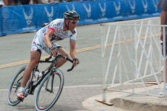 Corsa del ciclista Immagini Stock Libere da Diritti