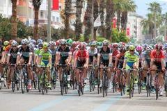 Corsa del ciclo Fotografie Stock