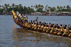Corsa 2017 del crogiolo di trofeo di Nehru nel Kerala immagini stock libere da diritti